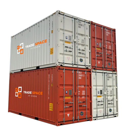 Stacked Container Storage Options