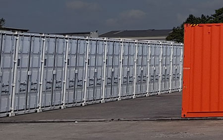 Brisbane self storage container hire and sales